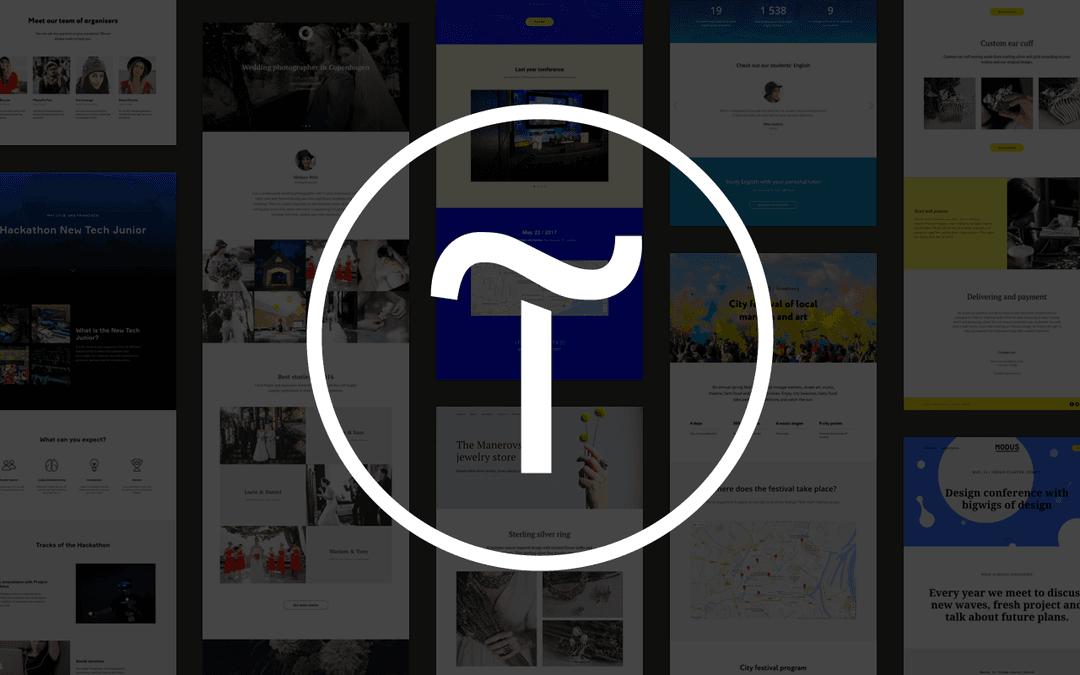 создание сайта на Тильде